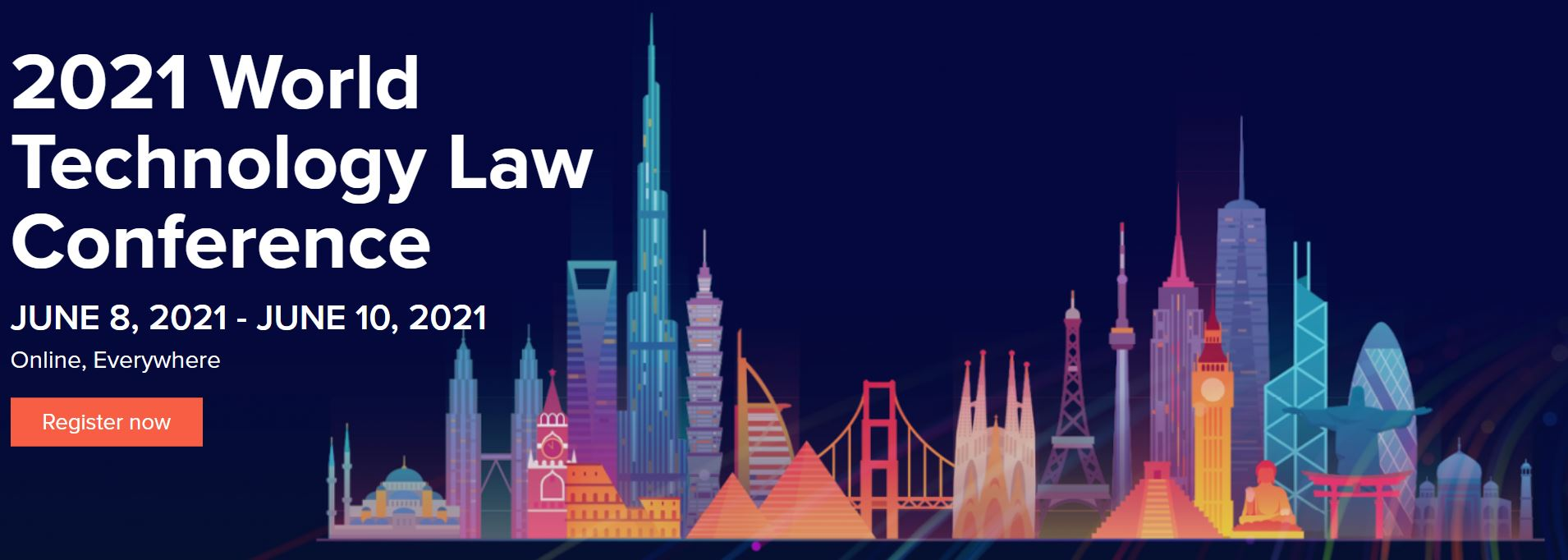 TCI Rechtsanwälte ist Gold Plus Sponsor der 2021 World Technology Law Conference